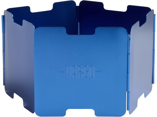 Vargo Aluminium Windscreen, blue